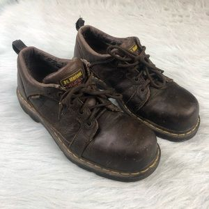 Dr Martens Air Wair Industrial Steel Toe Shoes 10